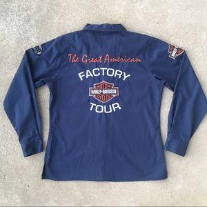 ❗️SOLD❗️Harley-Davidson x Buell Mechanic Shirt